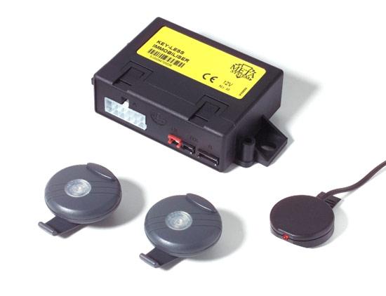 Иммобилайзер с аналоговым реле блокировки
